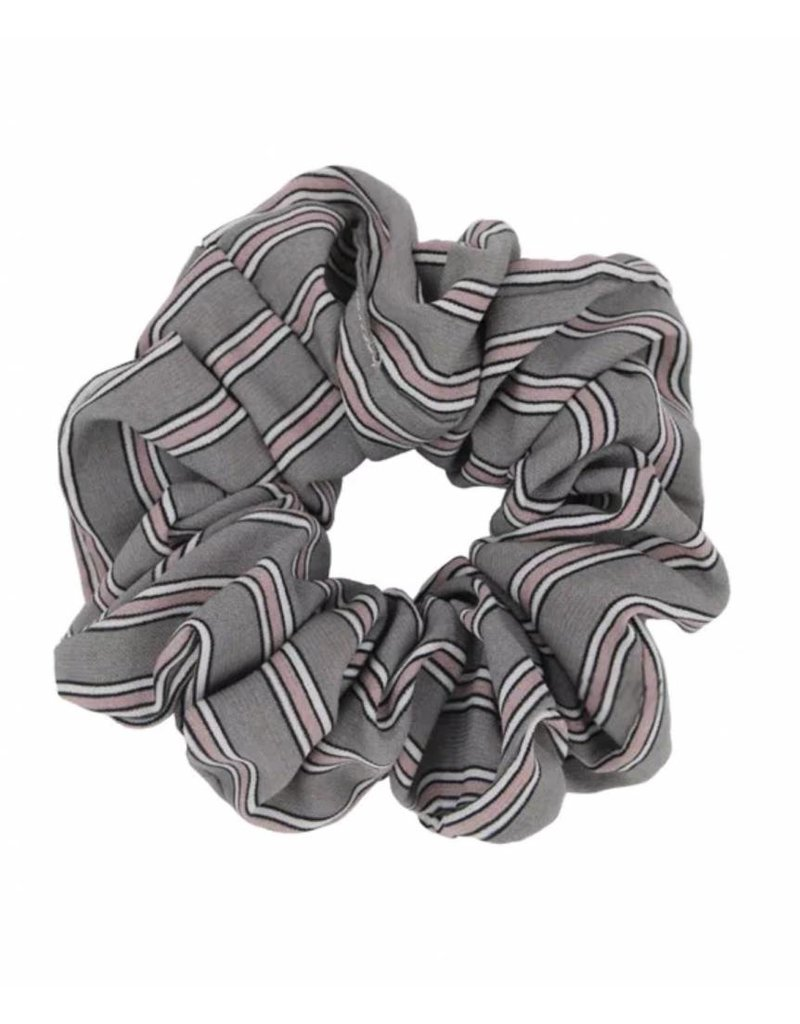 Retro scrunchie - Grey
