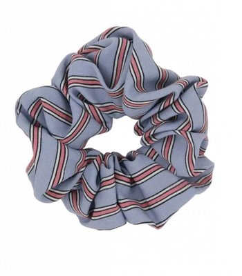 Retro scrunchie - Light blue