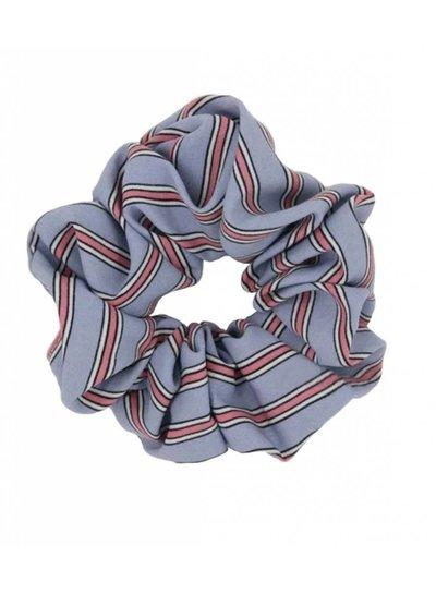 Retro scrunchie - Light blue