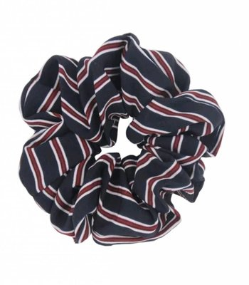 Retro scrunchie - Blue