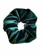 Velvet scrunchie - Green