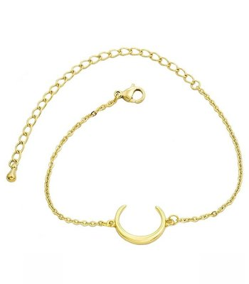 Small crescent horn gold