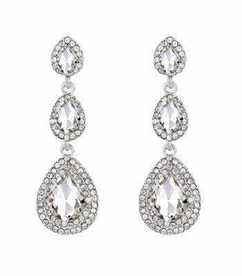 Sparkle statement earrings