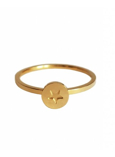 Star ring 2.0 gold