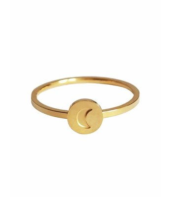 Moon ring 2.0 gold