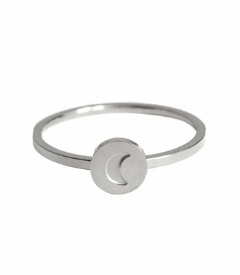 Moon ring 2.0 silver