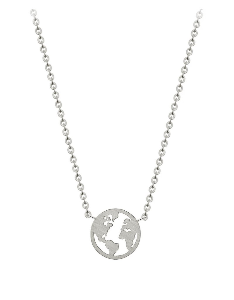 Planet earth silver