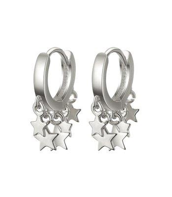 Falling stars silver