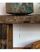 Long Chain Necklace Silver