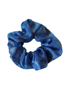 Sparkle Scrunchie Blue