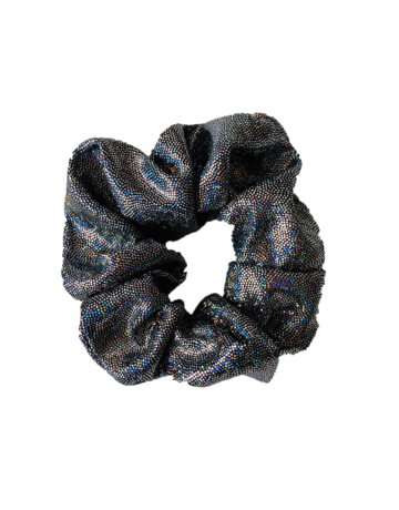 Sparkle Scrunchie Black