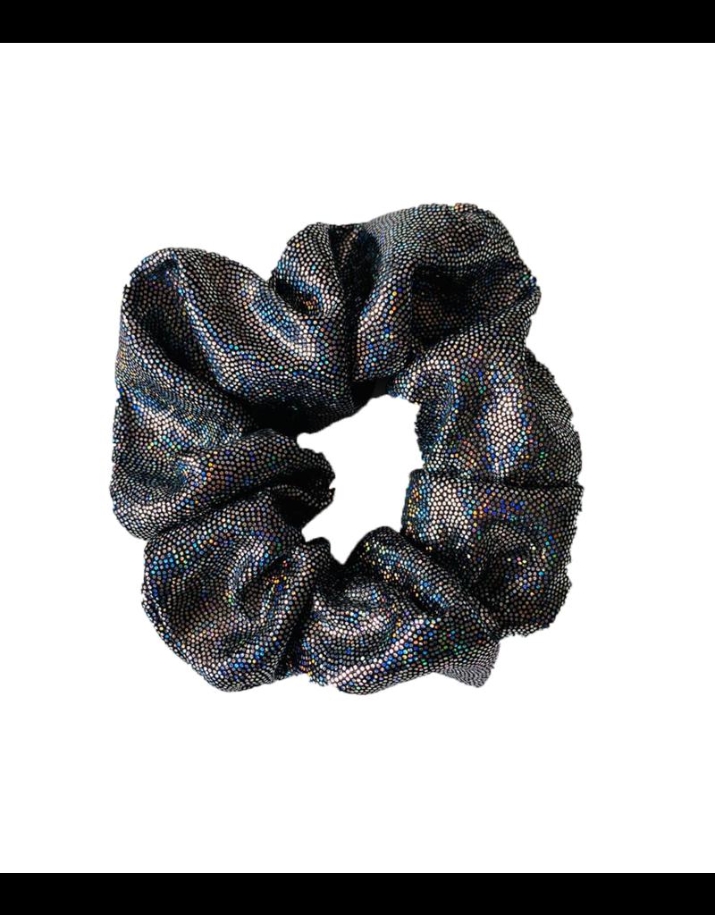 Sparkle Scrunchie Black