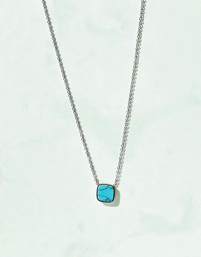 Marbre Bleu in Silver