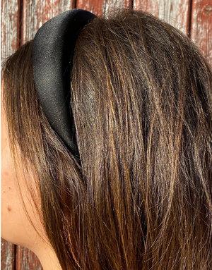Brede Haarband - Silk Black