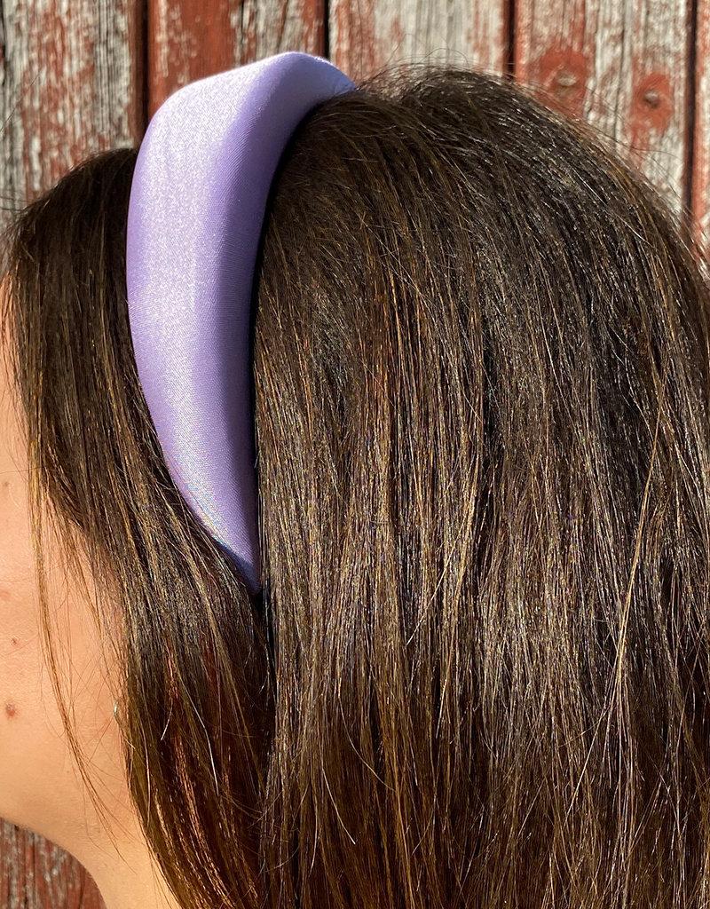 Brede Haarband - Silk Purple