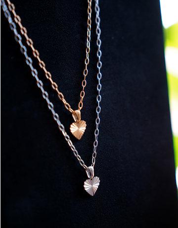 A Women's Vintage Heart Silver