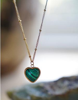 Heart Of ... Malachite Gold