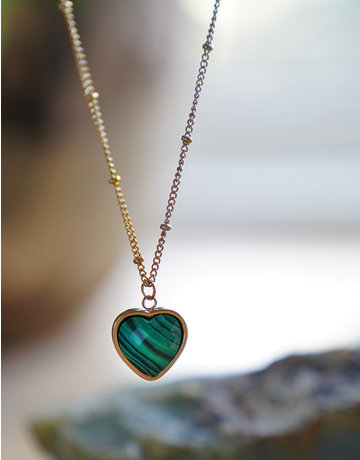 Heart Of ... Malachite Gold