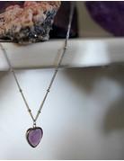 Heart Of ... Rose Quartz Silver