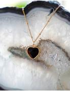 Heart Of ... Black Onyx Gold