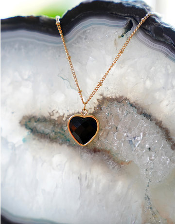 Heart Of ... Black Onyx Gold