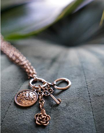 Keys & Coins Bracelet