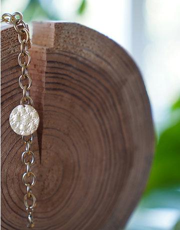 Golden Coin Bracelet