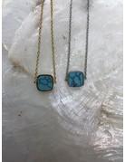 Marbre Blue Bracelet Silver