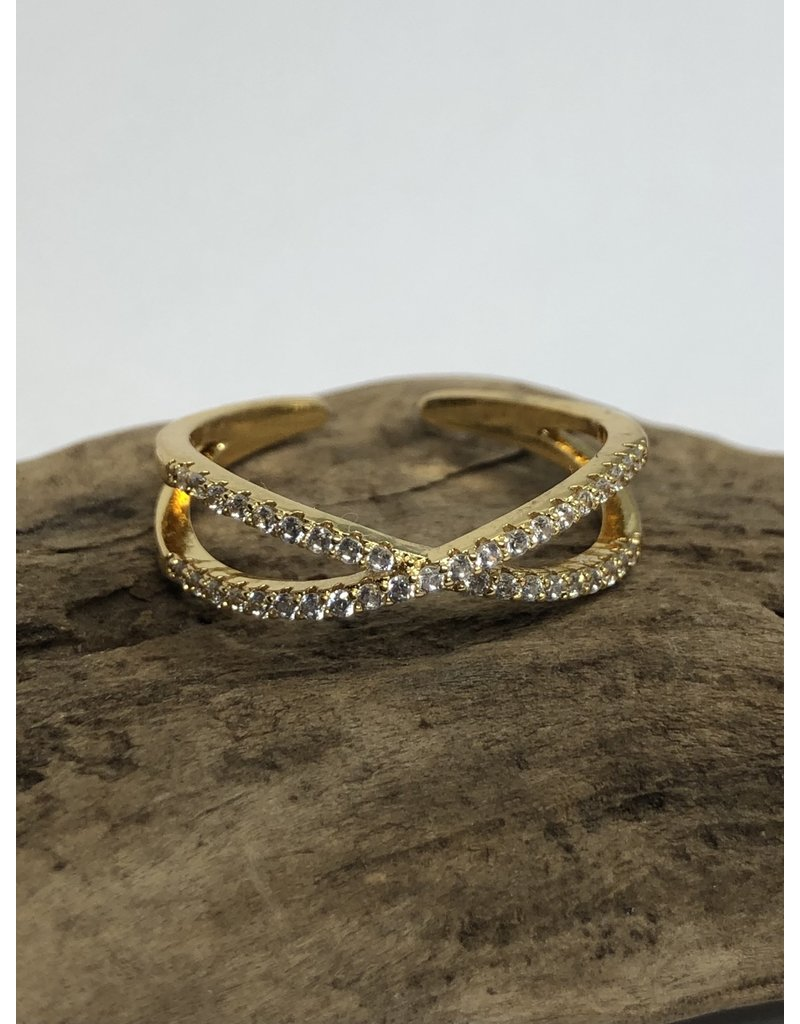 Cross Ring Gold