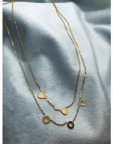 Romantic Necklace  Gold
