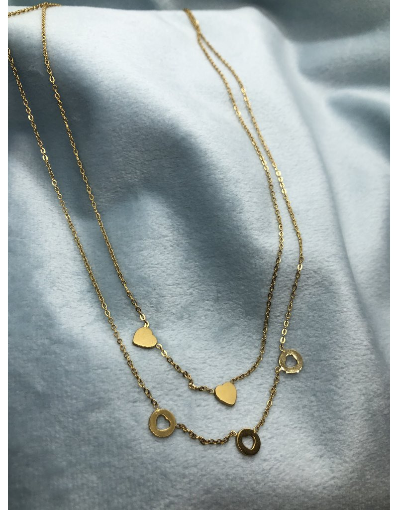 Stainless Steel Romantic Gold