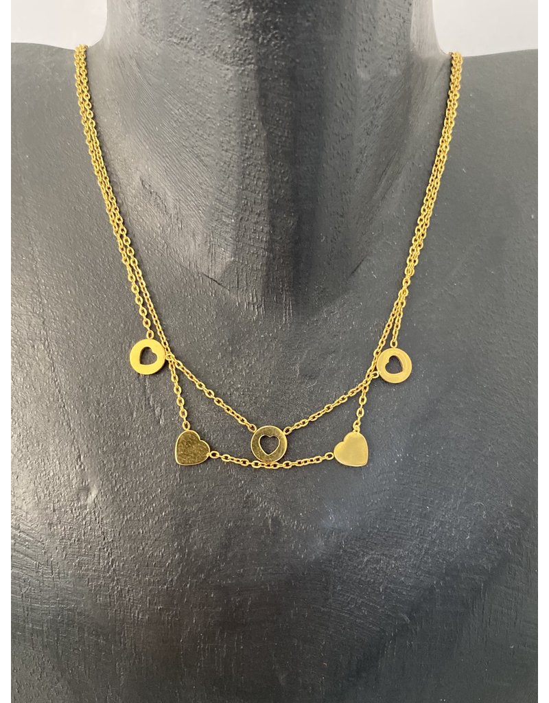 Stainlesss Steel Romantic Gold