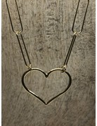 Necklace Link my heart Gold