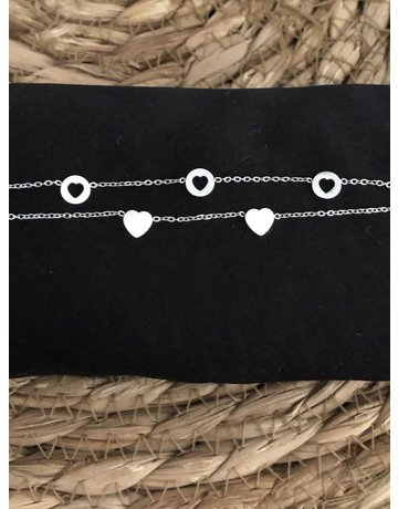 Armband Romantic hearts