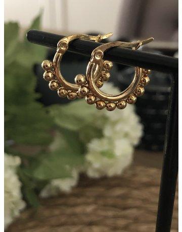 Ball (W) Hoop Gold