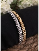 Round Cable Bracelet Gold
