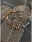 Simple Chain Bracelet Gold