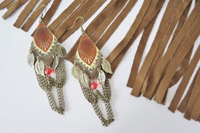 My Indian earrings
