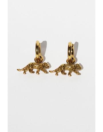 Earrings Leopard