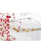 Romantic Stainless Steel Bracelet Gold