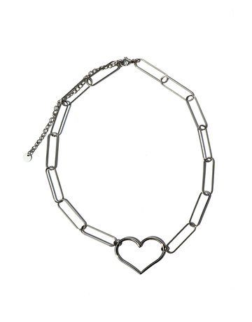 Necklace Link my heart
