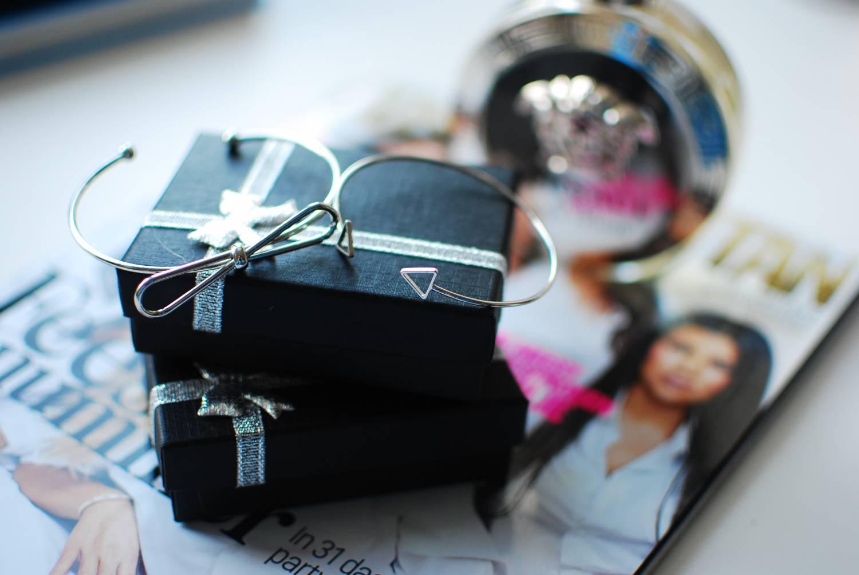 Silver bracelet duo