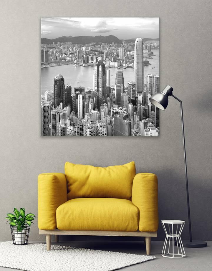 City Hong Kong 5mm print - fraaie glas look van jouw foto's