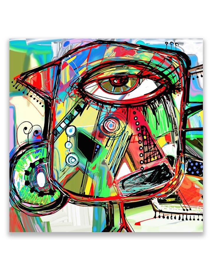 Eye Design 5mm print - fraaie glas look van jouw foto's