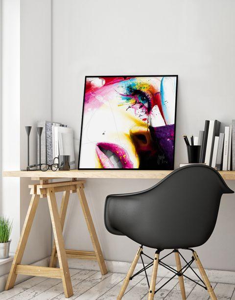 Sensual Colors | artprint in Pro Line zwarte aluminium lijst