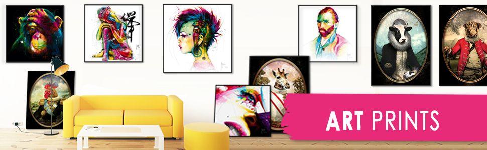Art prints - bijzondere reproducties in een fraaie kwaliteit geprint en ingelijst