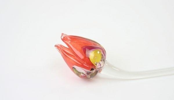 Handgemaakte tulpen van Boheems kristal