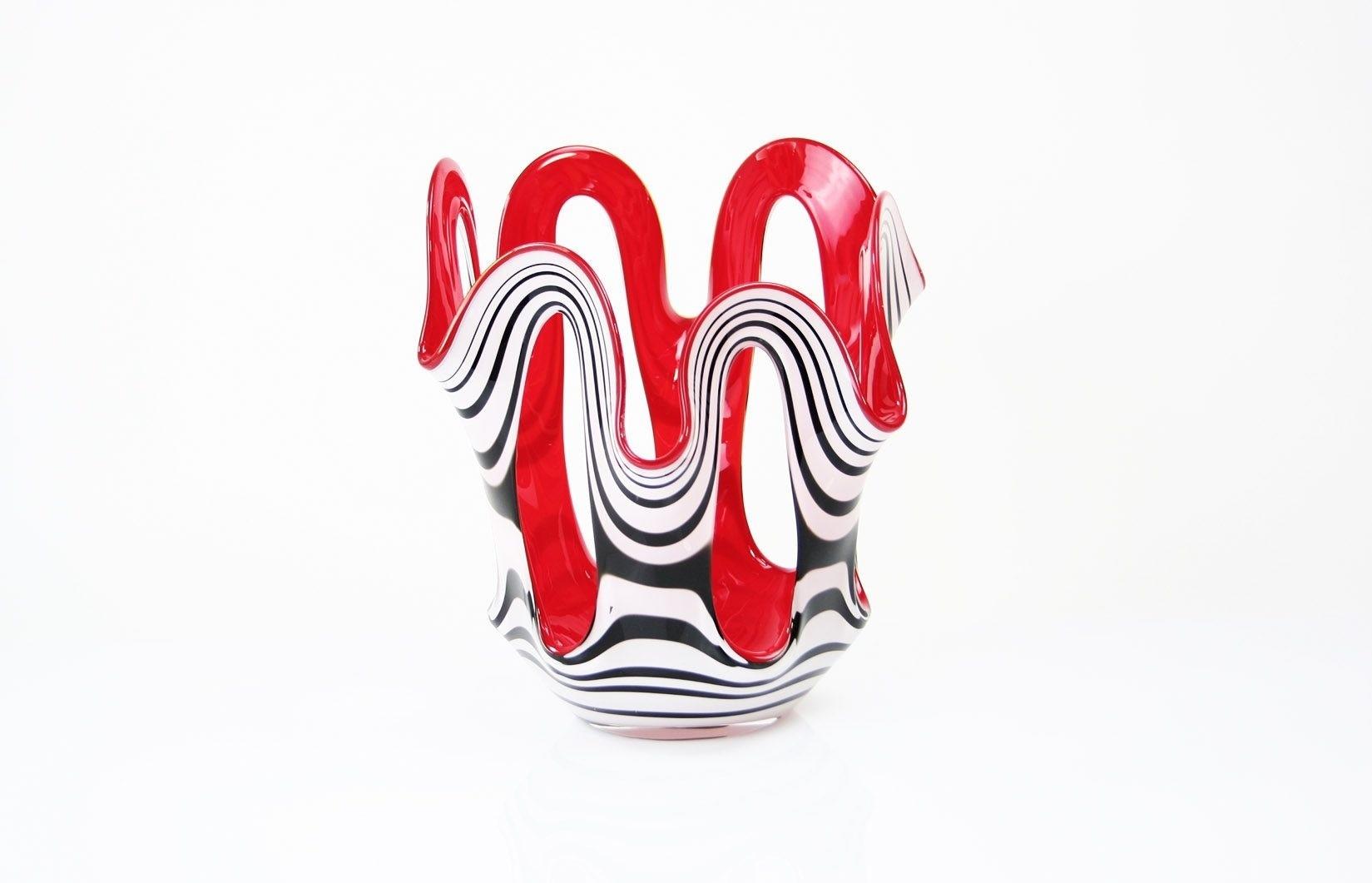 Vaas Zebra/Rood Open