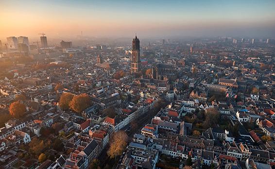 Utrecht airview