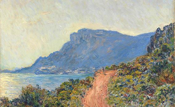 La corniche bij Monaco - Claude Monet